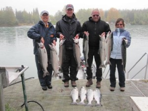 Daily Kenai fishing report