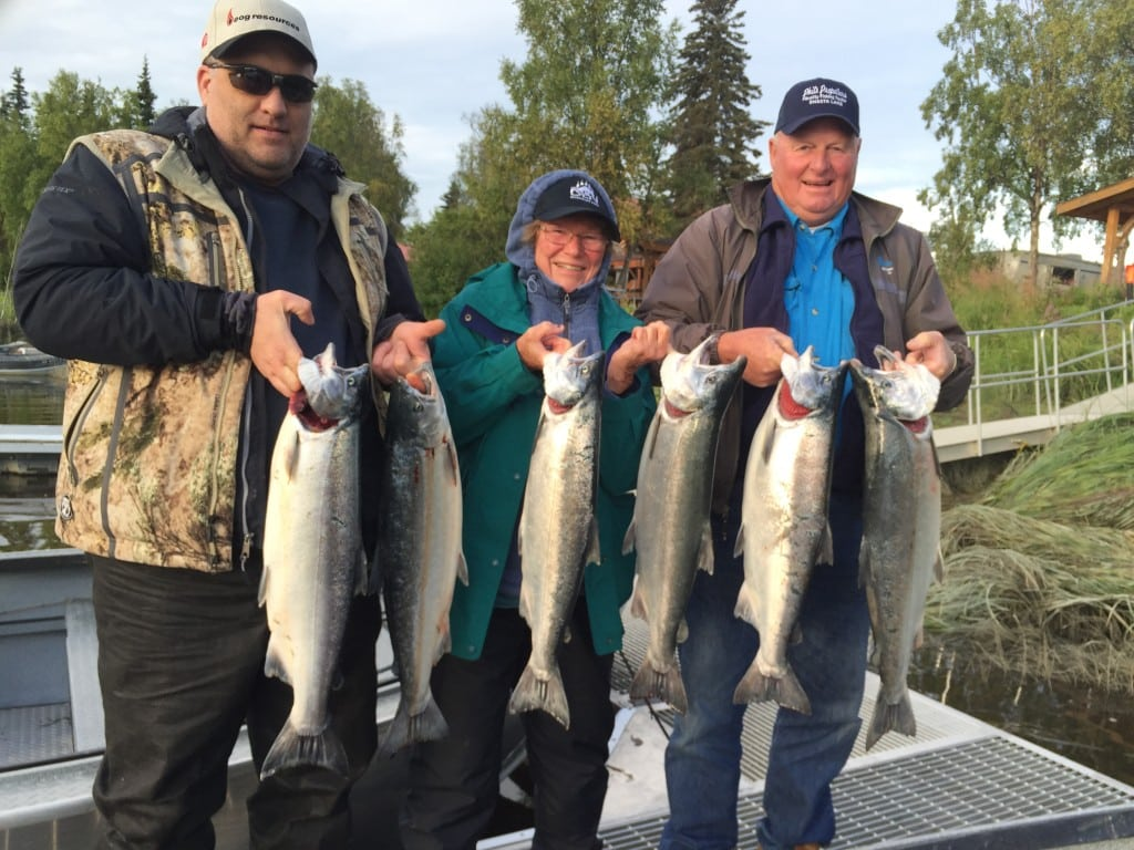 Kenai river fishing guide - Kenai river silver salmon