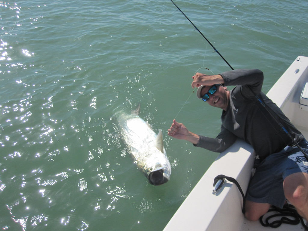 Florida tarpon fishing fort myers jim rusk fishing guide for Florida tarpon fishing