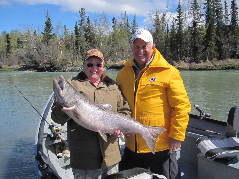 Kasilof river king salmon fishing jim rusk fishing guide for Kenai river fishing