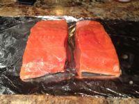 alaska wild salmon fillet