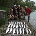 red salmon fishing