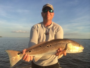 Jim Rusk and a Redfish: Fort Myers Fishing Report