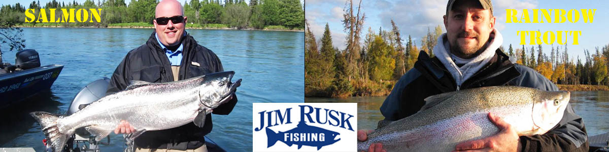 Jim Rusk Fishing Guide Alaska
