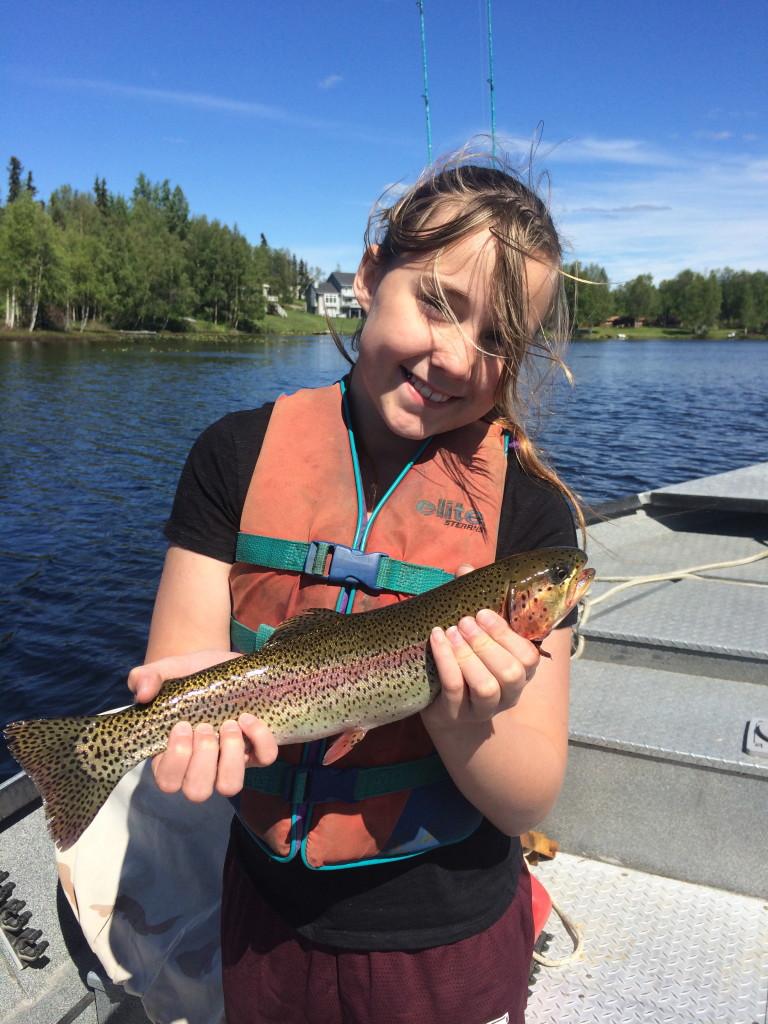 Rainbow trout Alaska