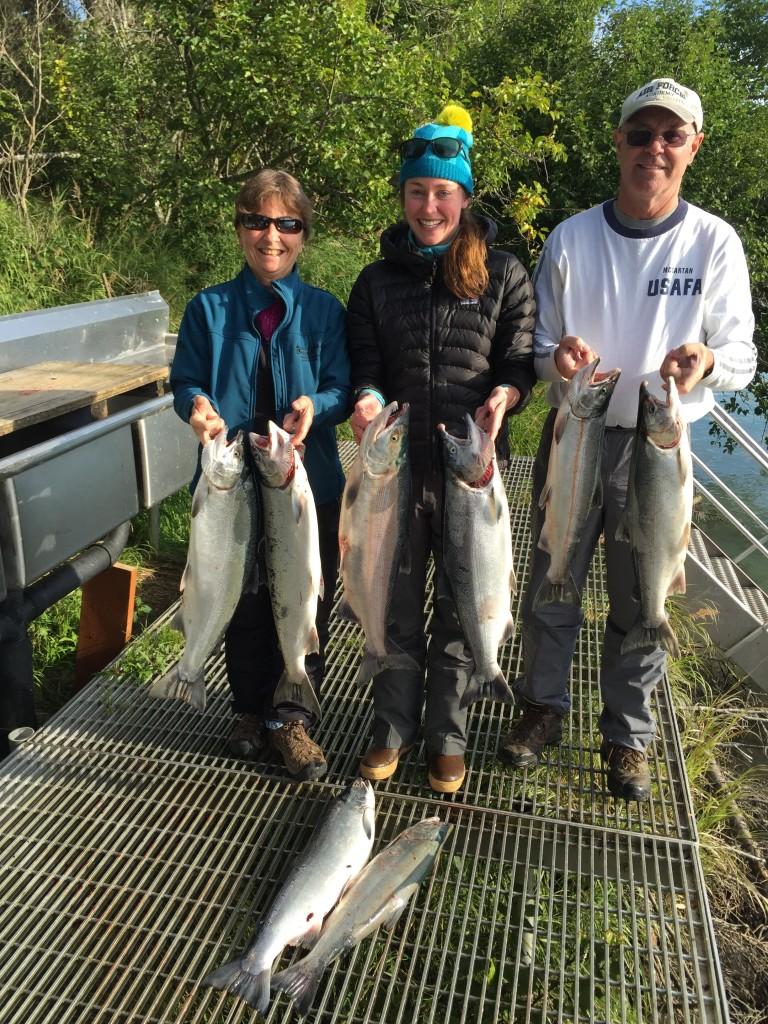 Kenai River silver - Kenai river fishing august 2015