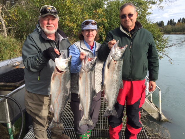 Kenai River Silver Salmon Fishing