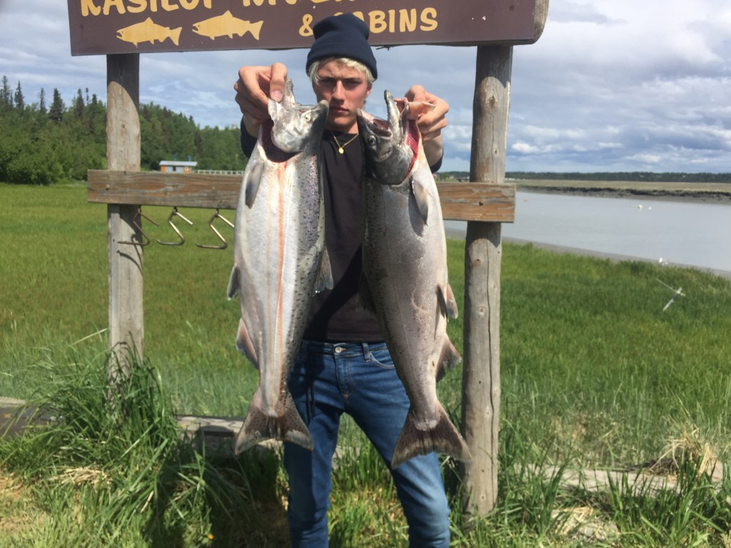 kenai fishing report catch of the day