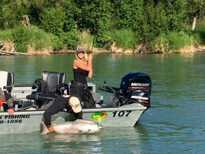 Kenai river fishing guide - king salmon